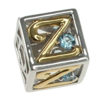 Michael Valitutti 'Letter Z' Charm