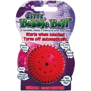 Kitty Talking Babble Ball-Pink