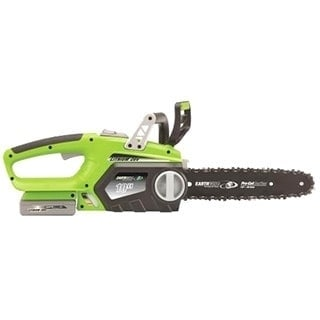 Esselte 10-Inch Cordless 20-volt Lithium Ion Chain Saw (1...