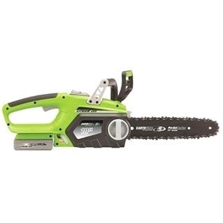 Earthwise 10-Inch Cordless 20-volt Lithium Ion Chain Saw