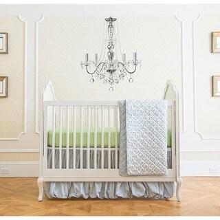 Summer Infant Classic Garden Grey 4-piece Crib Bedding Set