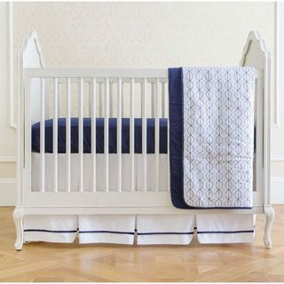 Summer Infant Nautical Navy 4-piece Crib Bedding Set