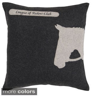 Decorative Krieger Horse Pillow