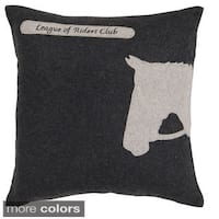Decorative Krieger Horse Pillow