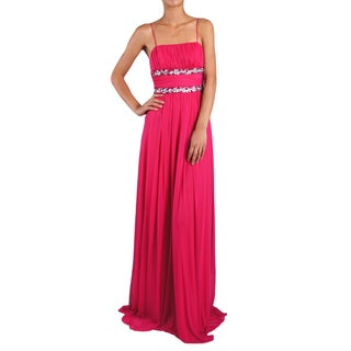 DFI Women's Shirred and Beaded Bridesmaid Dress (More options available)