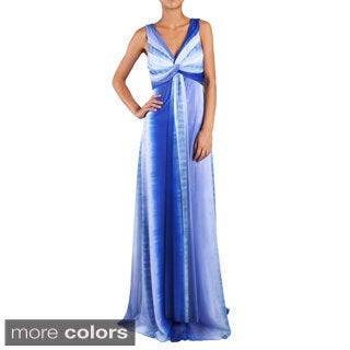 DFI Women's Colorful Twist Evening Gown