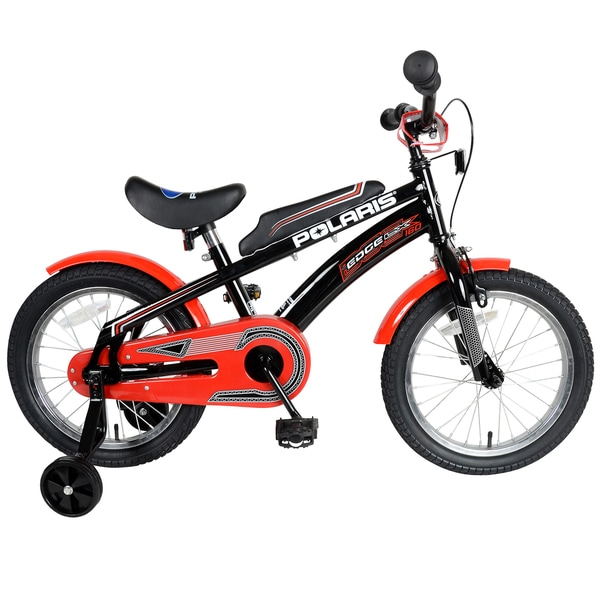 Polaris Edge LX160 Black/ Red Kid's Bicycle