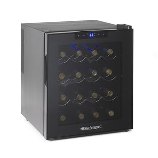 Wine Enthusiast Silent 16-bottle Touchscreen Wine Cooler