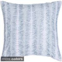 Decorative Lola Feather Down or Poly Filled 22-inch Throw Pillow