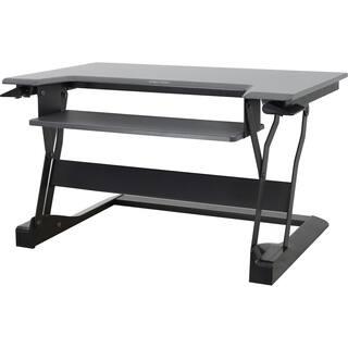 Ergotron WorkFit-T, Sit-Stand Desktop Workstation (Black) https://ak1.ostkcdn.com/images/products/9668243/P16849232.jpg?impolicy=medium