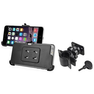 INSTEN Black Bicycle Air Vent Phone Holder Mount With Phone Holder Plate For Apple iPhone 6 Plus/ iPhone 6+ 5.5-inch