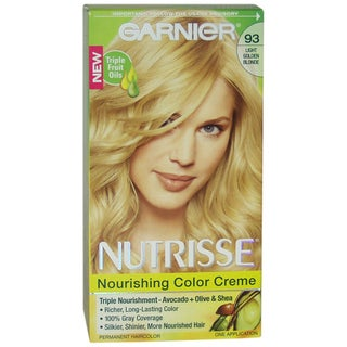 Garnier Nutrisse Nourishing Color Creme #93 Light Golden Blonde Hair Color