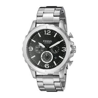 Fossil Men's JR1468 'Nate' Chronograph Stainless Steel Watch|https://ak1.ostkcdn.com/images/products/9668369/P16849386.jpg?impolicy=medium