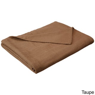 Superior All-season Luxurious 100-Percent Cotton Metro Blanket (More options available)