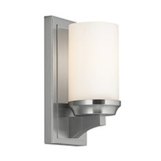 Amalia 1-light Brushed Steel 9.5-inch Wall Bracket