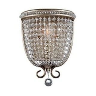 Dutchess Burnished Silver 1-light Wall Sconce