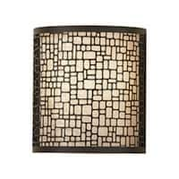 Feiss Joplin 1 - Light Sconce, Light Antique Bronze