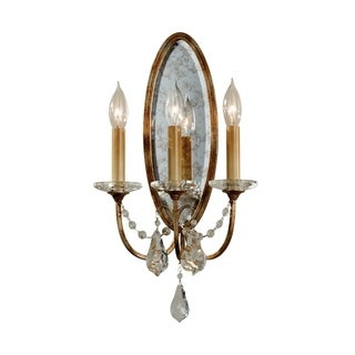 Valentina Oxidized Bronze 3-light Wall Sconce