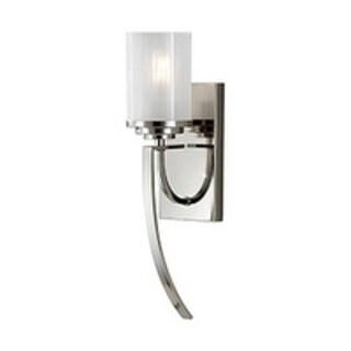 Feiss Finley 1 - Light Sconce, Polished Nickel