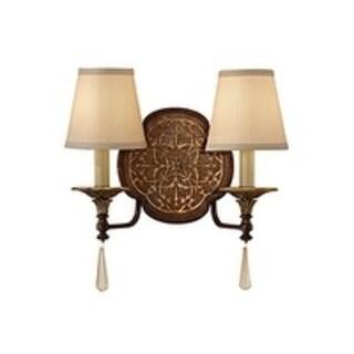 Feiss Marcella 2 - Light Sconce, British Bronze / Oxidized Bronze