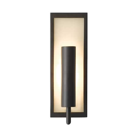 Feiss Mila 1 - Light Sconce, Oil Rubbed Bronze