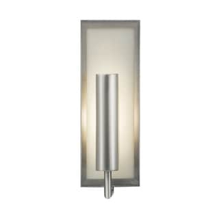 Minila Brushed Steel 1-light Wall Sconce