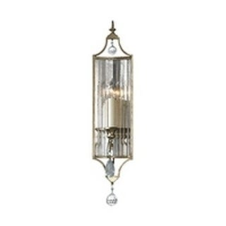 Gianna Gilded Silver 1-light Wall Sconce