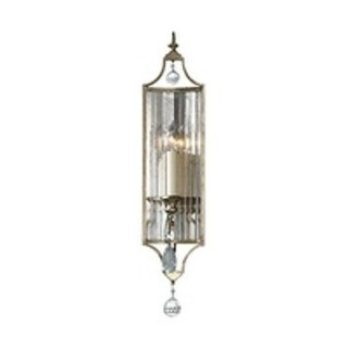 Feiss Gianna 1 - Light Sconce, Gilded Silver