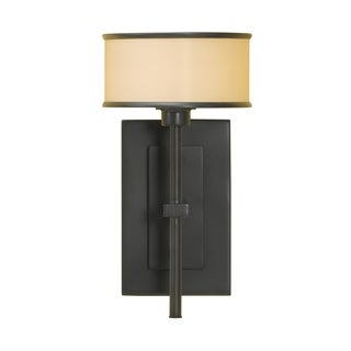 Casual Luxury Dark Bronze 1-light Wall Sconce