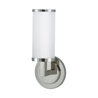 Feiss Industrial Revolution 1 - Light Sconce, Polished Nickel