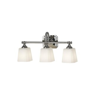Feiss Concord 3-Light Vanity Strip, Polished Nickel