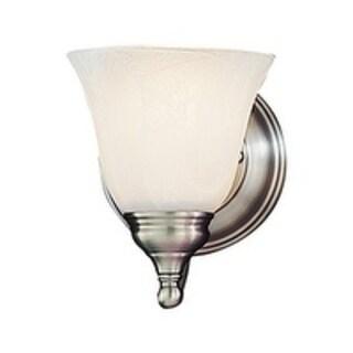 Murray Feiss Bristol 1-light Pewter Vanity Bathroom Light