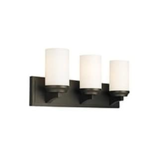 Murray Feiss Amalia 3-Light Vanity Strip in Oil Rubbed Bronze