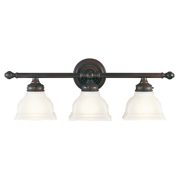 Murray Feiss New London 3 Light Oil Rubbed Bronze Vanity Fixture Free Shipp