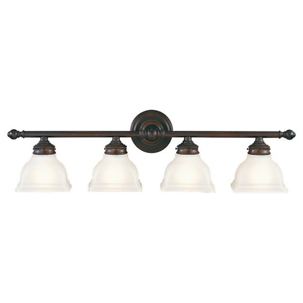 Murray Feiss New London 4 Light Oil Rubbed Bronze Vanity Fixture Free Shipp