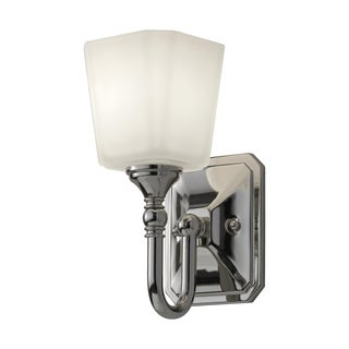 Concord Polished Nickel 1-light Wall Sconce