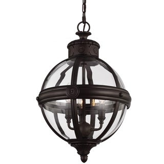 Adams Oil Rubbed Bronze 3-light Pendant