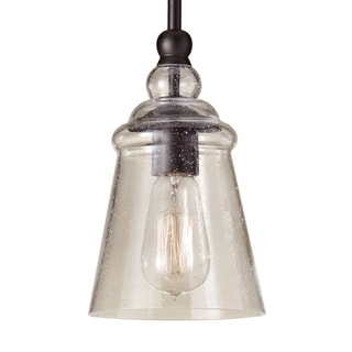 Oil Rubbed Bronze 1-light Pendant