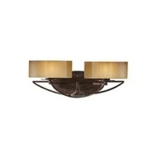 El Nido Mocha Bronze 2-light Vanity Fixture