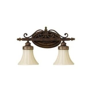 Drawing Room Vanity Light Walnut 2-light Vanity Fixture