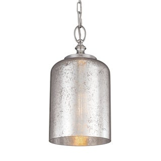 Hounslow Polished Nickel 1-light Mini Pendant
