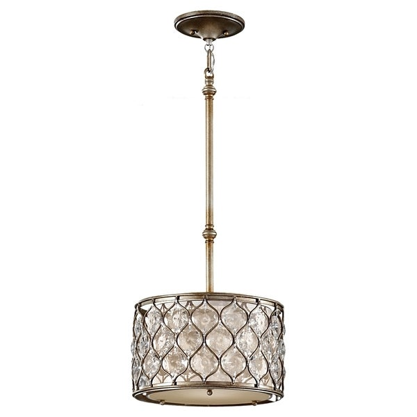 Burnished Silver 1 Light Pendant Free Shipping Today 16849718