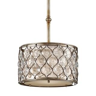 Burnished Silver 1-light Pendant