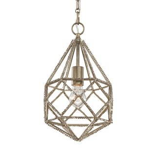 Marquise Mini Burnished Silver 1-light Pendant