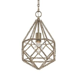 Marquise Mini Burnished Silver 1-light Pendant
