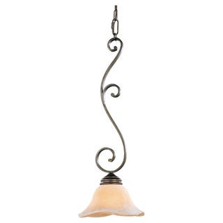 Corthian Bronze 1-light Mini Pendant