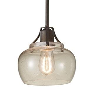 Rustic Iron 1-light Mini Pendant