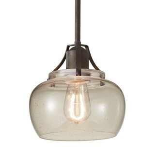 Rustic Iron 1-light Mini Pendant