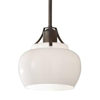 Mini Rustic Iron 1-light Pendant