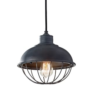 Antique Forged Iron 1-light Pendant